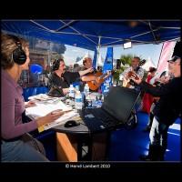 Animation radio, en direct extérieur, Foire du Dauphiné, Romans
