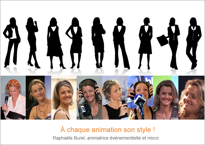 Burel Raphaele animatrice style evenement Avignon