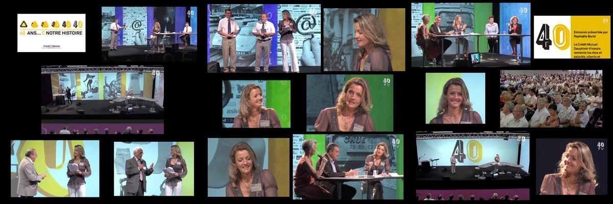 Raphaele Burel TV entreprise Valence Avignon Marseille Montpellier